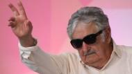 Popstar unter den Linken Lateinamerikas: Uruguays früherer Präsident José Mujica
