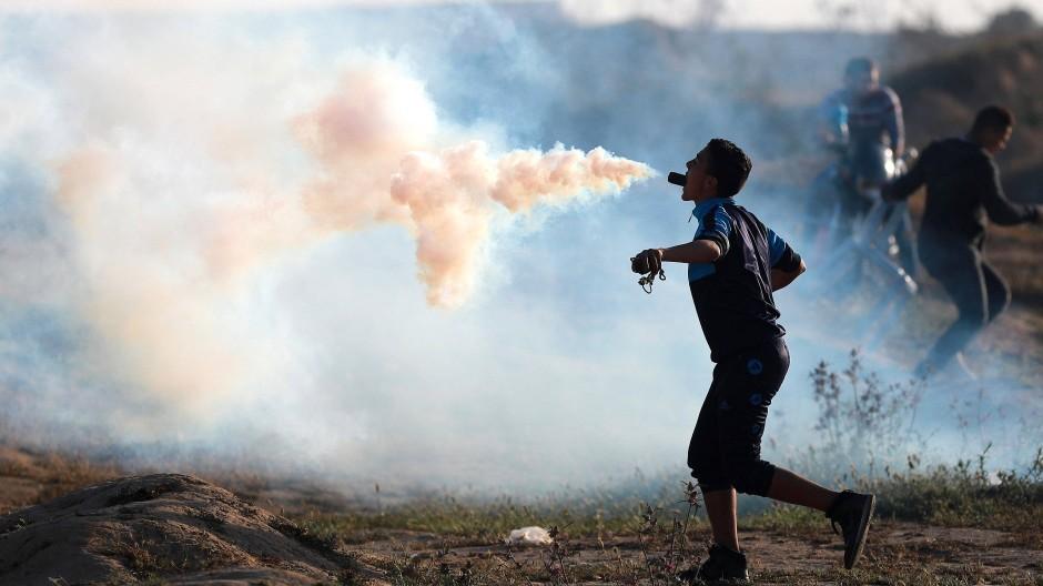 Verschärfte Lage im Gazastreifen