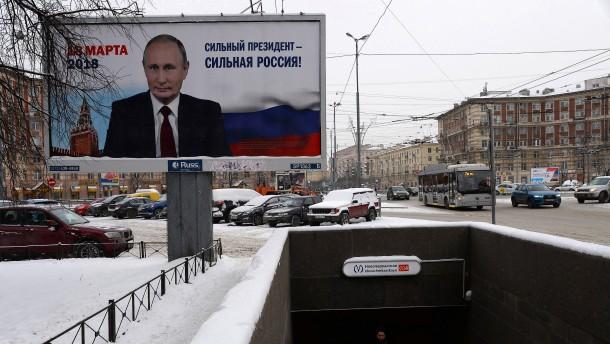 Warum sind die Russen so zufrieden mit Putin?