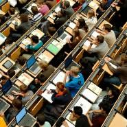 Mehr als achtzig Prozent der 115 befragten Hochschulen messen der Digitalisierung einen hohen Stellenwert bei, aber nur 20 Prozent glauben, dass die Digitalisierung bei ihnen auf einem hohen Stand ist. (Archivbild)