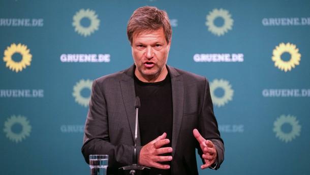 Habeck fordert ehrgeizigere Maßnahmen zur CO2-Einsparung