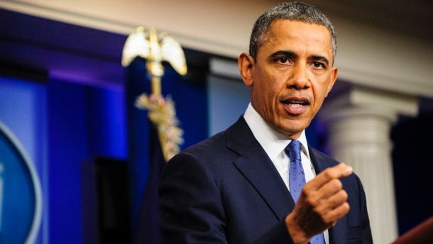 US President Barack Obama speaks about Fiscal Cliff negotiations
