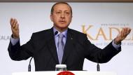 Einst Ministerpräsident, nun Präsident der Türkei: Recep Tayyip Erdogan