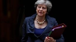 Die wachsende Angst vor einem Chaos-Brexit