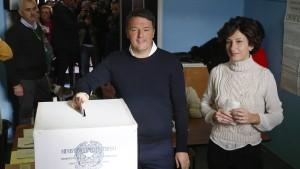 Italiener lehnen Verfassungsreform ab