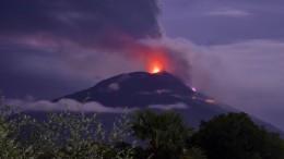 Vulkanausbruch in Indonesien