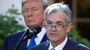 Trump greift amerikanische Notenbank an