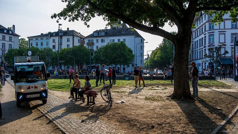 Die Stadt Frankfurt hat sich dazu entschlossen, den Friedberger Platz am Freitag zu sperren.