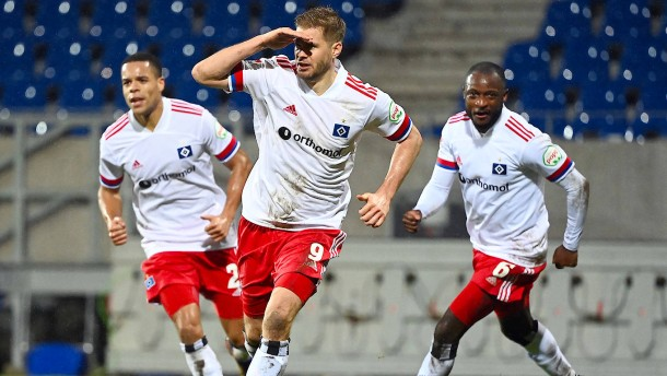 HSV holt in Karlsruhe den dritten Sieg in Serie