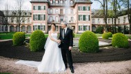 Prächtige Kulisse: Auch der Oberbürgermeister und seine Frau haben im Palast in Höchst geheiratet.