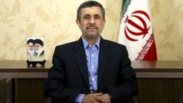 Ahmadinedschad will es nochmal wissen