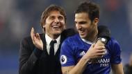 Chelsea lässt sich feiern