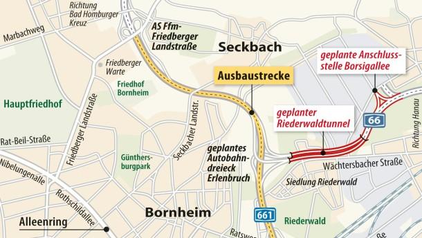 Anhörung zum Riederwaldtunnel startet im Januar