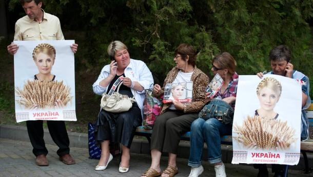 Justiz: Timoschenko hat sich selbst verprügelt