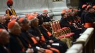 In den vergangenen Tagen kamen die Kardinäle in Rom zu zahlreichen Vorberatungen zusammen