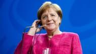 Merkel blickt zuversichtlich auf Masterplan