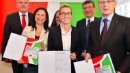 SPD, Grüne und Linke planen Rot-Rot-Grün
