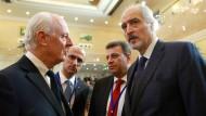 Syrien-Konferenz beginnt mit Pendel-Diplomatie