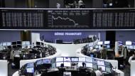 Der Bär ist erwacht: Am deutschen Aktienmarkt fallen die Kurse.