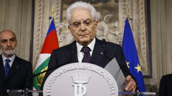 Regierungsbildung in Rom gescheitert