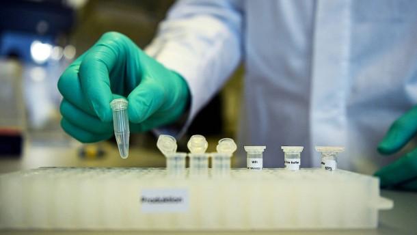 Steuerzentrale für Impfstofftests