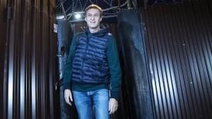 Kremlkritiker Nawalny aus Haft entlassen