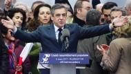 Hinter den Ermittlungen gegen ihn vermutet der konservative Präsidentschaftskandidat Fillon eine Verschwörung von Justiz und Medien.