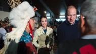 Ureinwohner-Häuptling sagt William und Kate ab