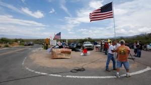 Flucht und Übertreibung in Arizona