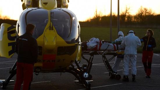 Französische Corona-Patienten nach Deutschland ausgeflogen