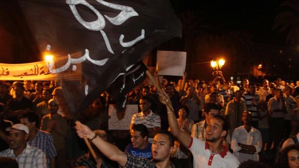 Demonstrationen in Marokko