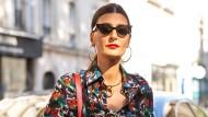 """""""Meine Lieblingsfarbe ist Print"""": die italienische Moderedakteurin Giovanna Battaglia Engelbert"""