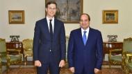 Kushner beim Treffen mit Präsident al Sisi