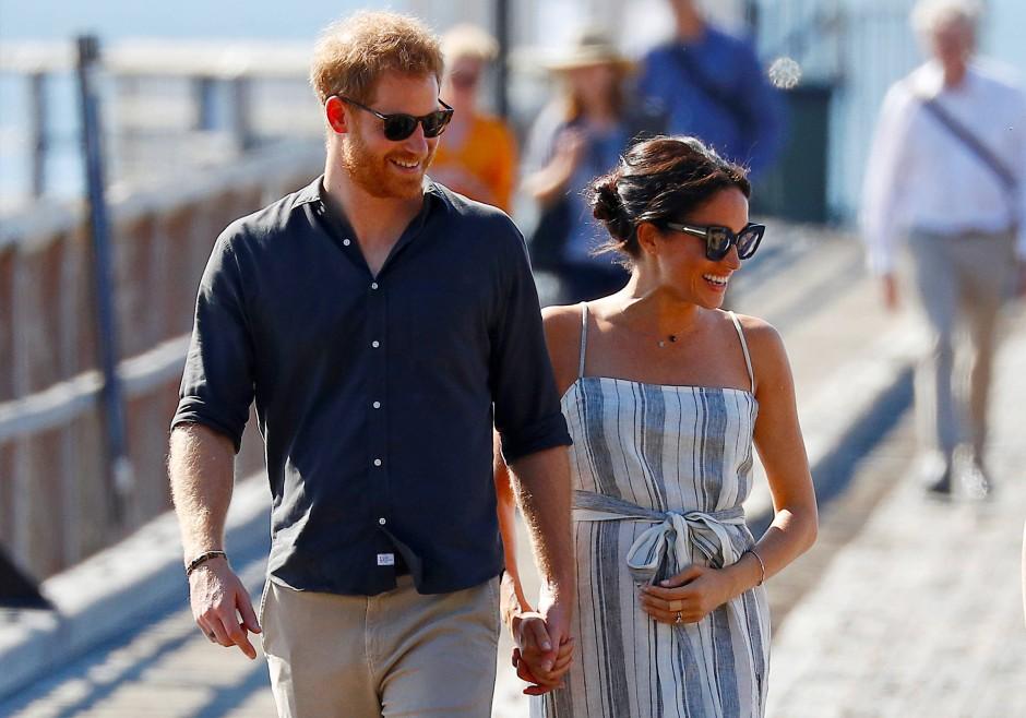 Prinz Harry und Meghan 2018 in Australien