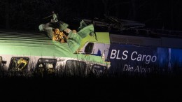 Ein Toter bei Güterzugunfall südlich von Freiburg