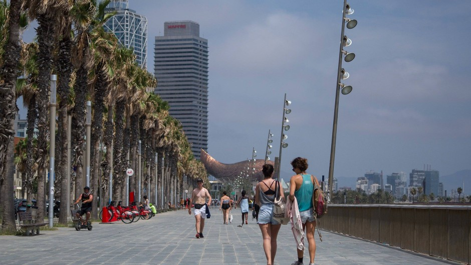 Reisewarnung für Regionen in Spanien