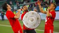 Bayern München ist deutscher Fußballmeister