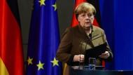 Sie verspricht, schnell Konsequenzen aus dem Anschlag von Berlin zu ziehen: Bundeskanzlerin Angela Merkel.