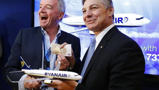 Ryanair erfindet neuen Namen für die Boeing 737 Max
