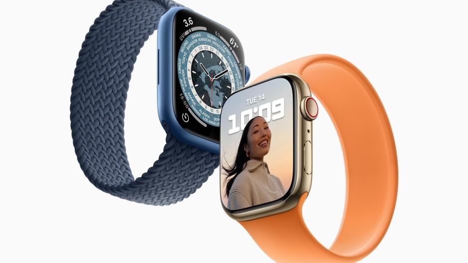 Zeit für die neue Generation: Die Apple Watch Series 7 hält einige Verbesserungen bereit.