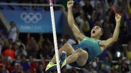"""""""Wenn der Stab dich hebt, fliegst du"""": Thiago Braz Da Silva bei seinem Olympia-Triumph in Brasilien"""