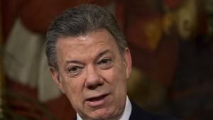 Scharfe Korruptionsvorwürfe gegen Kolumbiens Präsidenten