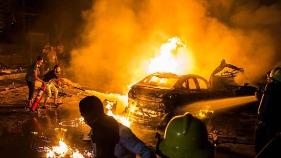 Tote und Verletzte nach Explosion