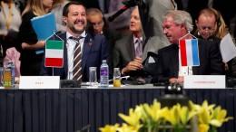 Salvini und Asselborn geraten aneinander