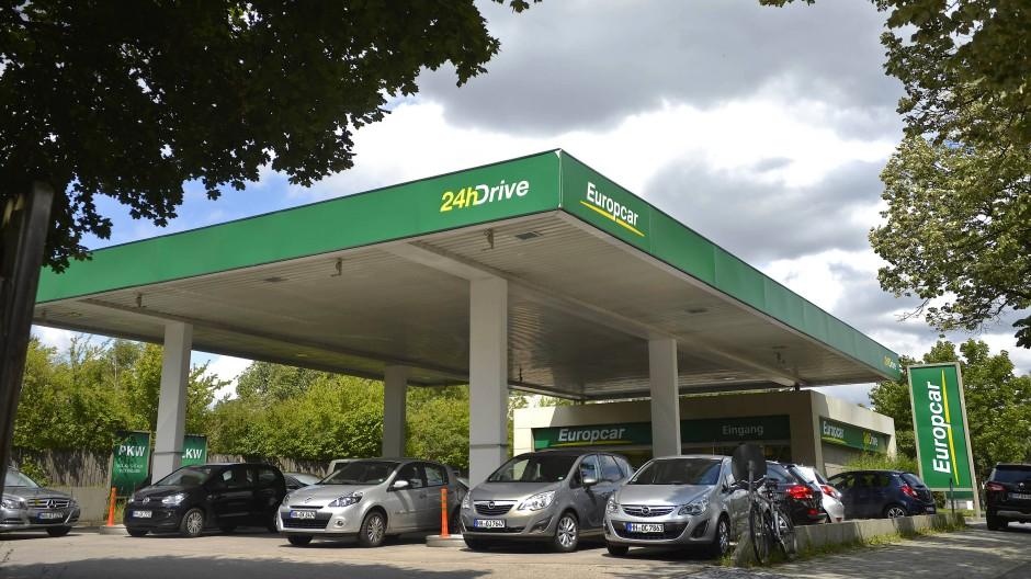 Eine Filiale von Europcar