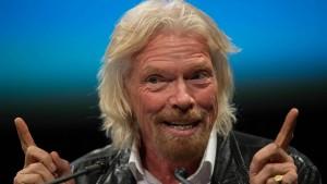 Branson will im eigenen Raumschiff ins Weltall starten