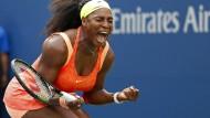 Zittersieg für Serena Williams