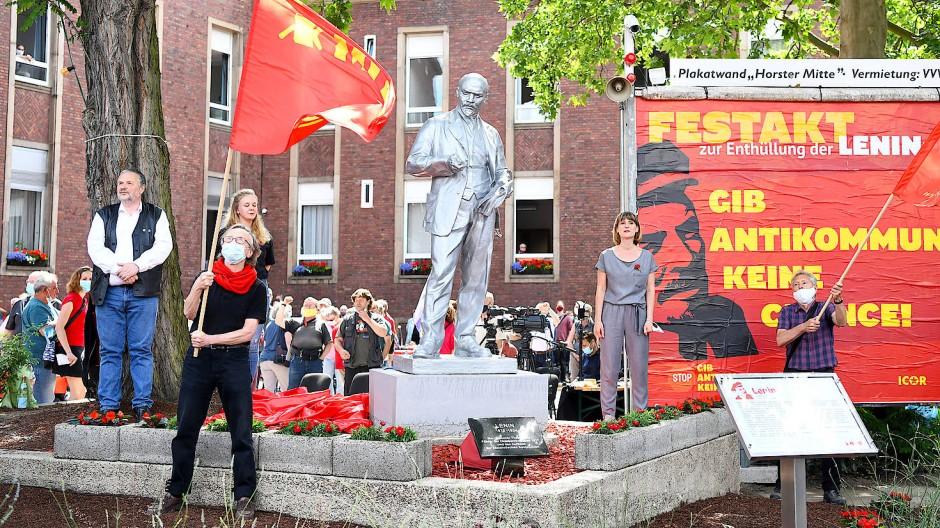 """""""Festakt Lenin"""": Der Revolutionsführer und Vordenker des Kommunismus steht jetzt auch im Westen"""