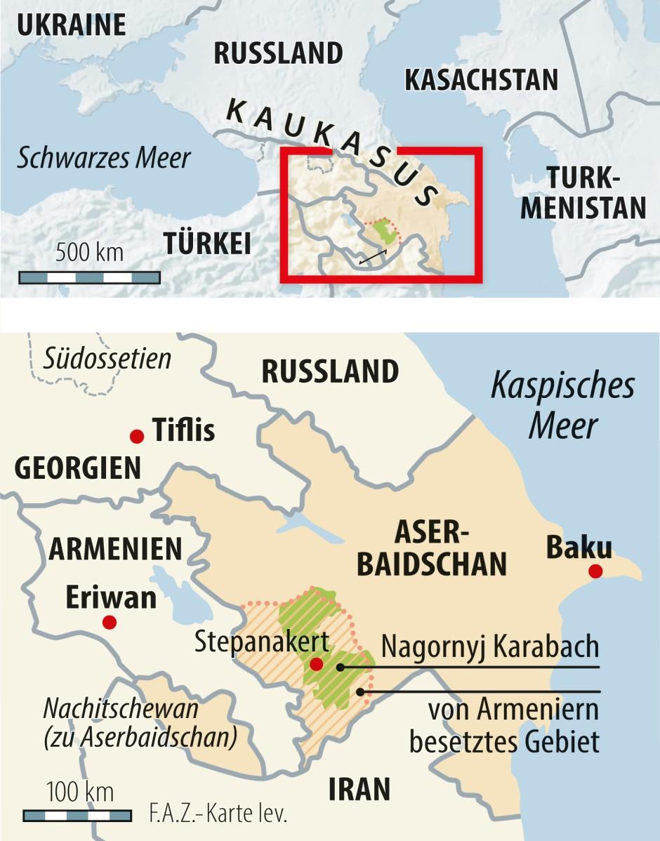 Das Militarische Ungleichgewicht Im Karabach Konflikt