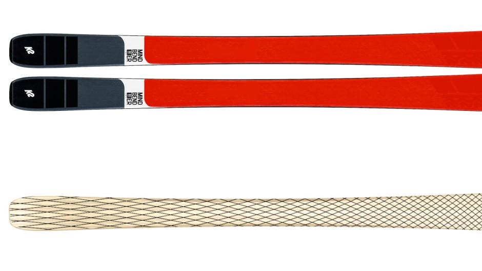 Der rote Mindblender 90 C mit Karbonnetz überm Holzkern